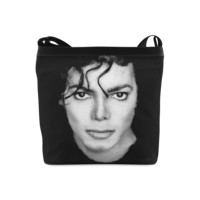 Michael Jackson Print Oxford Fabric Designer Shoulder Bag