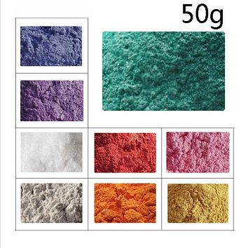 Natural Mineral Micas Dye Powder Do It Yourself Soap Dye Soap Colorant 50g Soap Powder Mico Powder For Soap