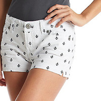 Product: Wallflower® Anchor Embroidered Shorts
