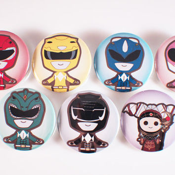 Mighty Morphin Power Rangers Pins