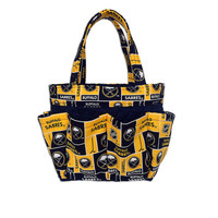 Buffalo Sabres Bingo Bag // Craft Organizer // Makeup Organizer // Caddy // Teacher Tote // Nurse Tote