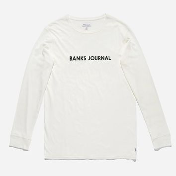 Banks Journal Label LS Tee