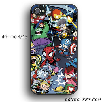 avengers babies case for iPhone 4[S]