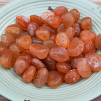 CARNELIAN Stone of Courage & Creativity - Boosts Self-Esteem, Aids Fertility, Clears Sacral Chakra