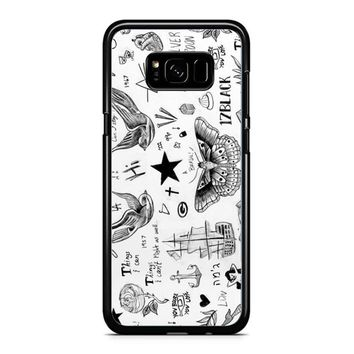 Harry Styles Tattoos Samsung Galaxy S8 Case