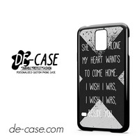 5 Sos Seconds Of Summer Lyrics For Samsung Galaxy S5 Case Phone Case Gift Present