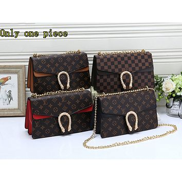 Gucci Fashion Lady's Full-Printed Coloured Single Shoulder Bag