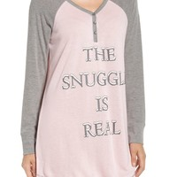 PJ SALVAGE | Peachy Jersey Nightshirt | Nordstrom Rack