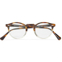 Oliver Peoples Gregory Peck Acetate Optical Glasses | MR PORTER