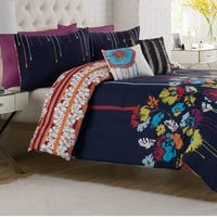 Vue Modflower Reversible Comforter Set
