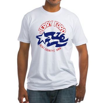 Jerry Ford 76 Fitted T-Shirt