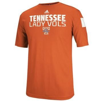 Tennessee Volunteers adidas 2014 Football Player Sideline Performance Shirt - Orange