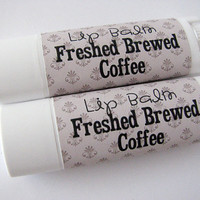Fresh Brewed Coffee - Lip Balm - Natural - Vegan - Nut Free - bath and beauty - No Sweetener