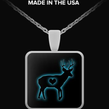 Stag Necklace - Square stagsquarenecklace
