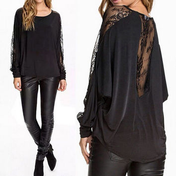 Long Sleeve T-shirts Tops Bottoming Shirt [6281584196]