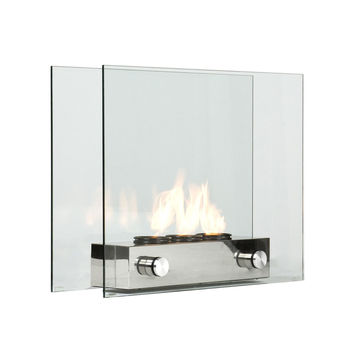 Contemporary Portable Fireplace