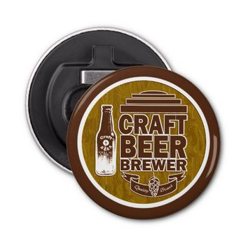 Craft Beer Brewer -Brown Bottle Opener