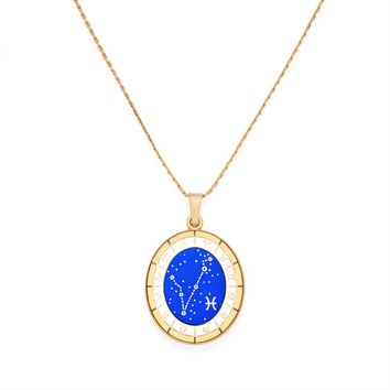 Pisces Celestial Wheel Expandable Necklace