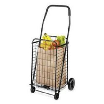 Rolling Utility Cart Black