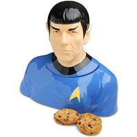 ThinkGeek :: Spock Cookie Jar