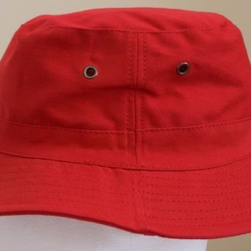 Bucket Hat 2 INCH Boonie Cap Cotton Fishing Hunting Safari Sun men women MASRAZE