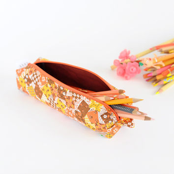 Pencil Bag | Patch Pattern