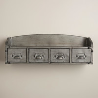 Metal Parker Wall Shelf - World Market