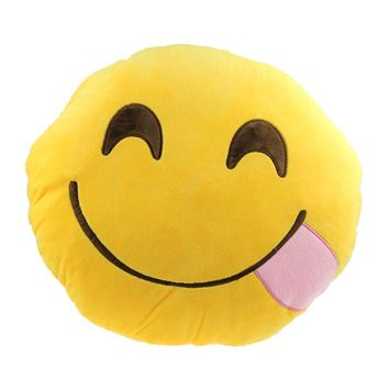 Car, Home or Office Accessory - Emoji Smiley Cushion