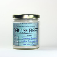 Forbidden Forest - Harry Potter Inspired Candles