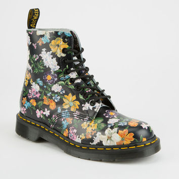 DR. MARTENS Darcy Floral Pascal Womens Boots