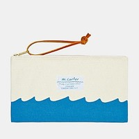 M. Carter Shop Wave Bottom Pouch - Urban Outfitters