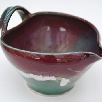 Shop Ceramic Bowls With Handles On Wanelo