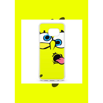 Couples Spongebob And Patrick Cartoon Best Friend Samsung Galaxy S7 Edge Case