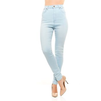Red Jeans Women's Lynn High Waist Skinny Soft Denim Jeans