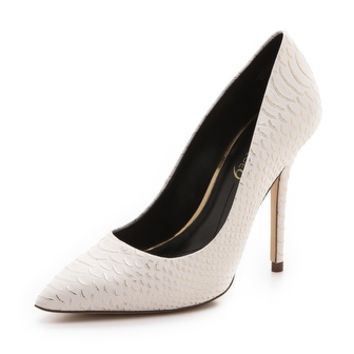 Justine Leather Pumps