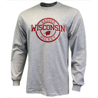Wisconsin Badgers Hockey Imprint Long Sleeve Shirt