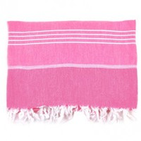 Turkish-T - Beach Towel / Pink
