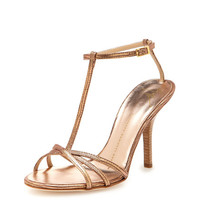 Lizard T-Strap Sandal by Giuseppe Zanotti at Gilt