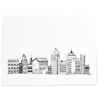 All Occassion Card - City Skyline Stationery Card - Just Because Card - New City