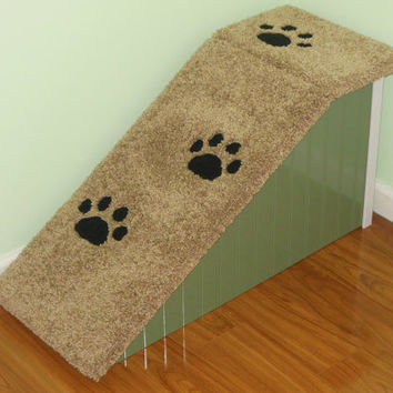 "18"" Tall Dog Ramp, Hand Made, Custom Built, Pet Steps, Dog Stairs. Made in the USA!"