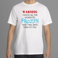 Disney Inspired FROZEN Men's T-Shirt Tee Top Olaf Elsa Anna Disneyland World S-2XL from Phone Fluff