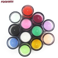 Women Color Acrylic Powder Nail Art