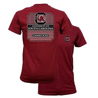 Southern Couture University of South Carolina Gamecocks Classic Preppy Girlie Bright T Shirt