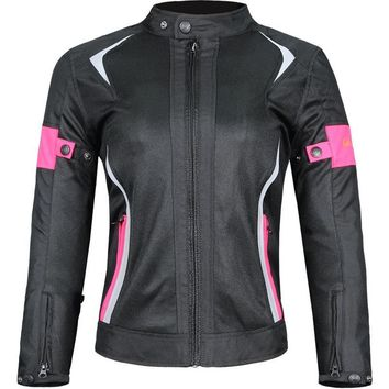 Motorcycle Jacket Women Breathable Mesh Touring Motorbike Riding Tops Motocross Racing Protective Gear Protection Size M-3XL r25
