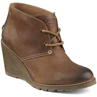 Women's Stella Prow Bootie in Brown by Sperry