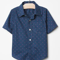Gap Baby Red Dot Shirt