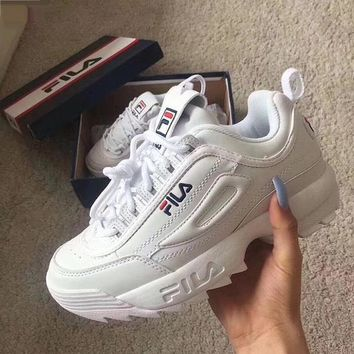 FILA Disruptor II Women Sneaker Shoes