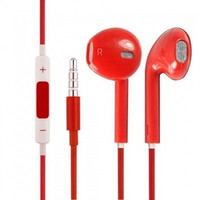 Ear pods earphones headphones for Apple iPhone 5G 5C iPad 3 4 iPad mini iPod touch 5 - Red = 1696753476