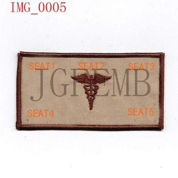 Marines USMC Medical rescue Custom name Tapes Text brand Morale tactics Military Embroidery patch