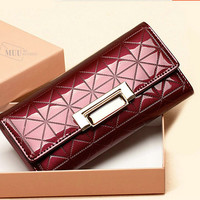 Women's Purse Long Folding Wallet